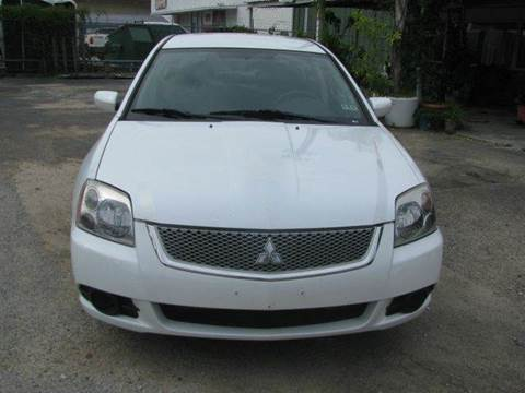 2012 Mitsubishi Galant for sale at MOTOR CAR FINANCE in Houston TX