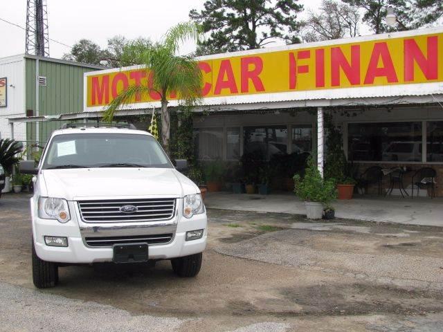 2010 Ford Explorer for sale at MOTOR CAR FINANCE in Houston TX