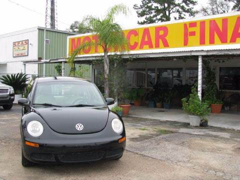 2010 Volkswagen New Beetle for sale at MOTOR CAR FINANCE in Houston TX