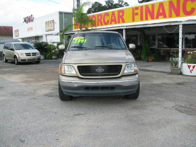 2001 Ford F-150 for sale at MOTOR CAR FINANCE in Houston TX