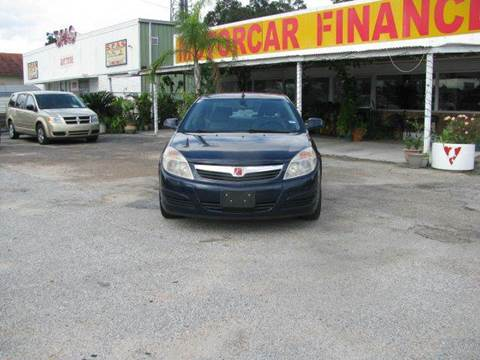 2007 Saturn Aura for sale at MOTOR CAR FINANCE in Houston TX