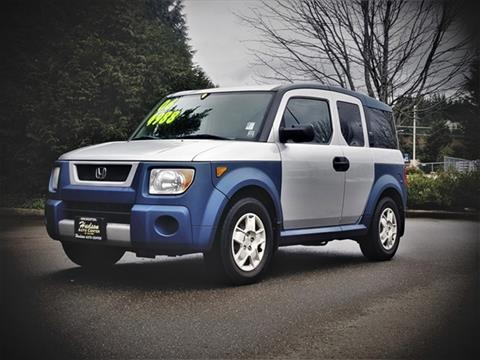 2006 Honda Element for sale in Poulsbo, WA