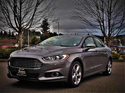 2014 Ford Fusion for sale in Poulsbo, WA