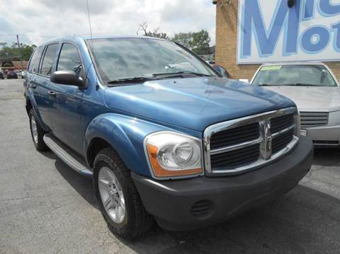 2004 Dodge Durango for sale at Michael Motors in Harvey IL