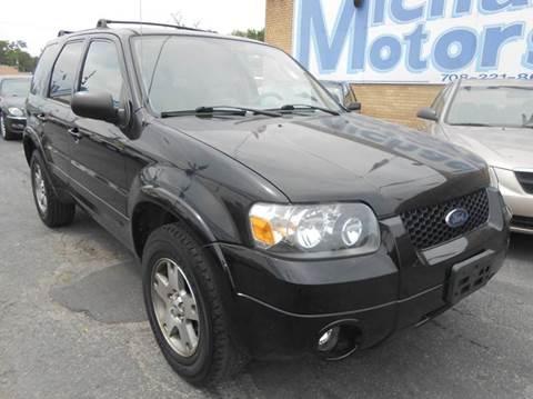2005 Ford Escape for sale at Michael Motors in Harvey IL