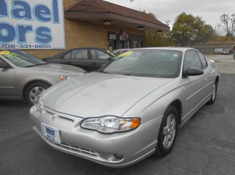 2004 Chevrolet Monte Carlo for sale at Michael Motors in Harvey IL