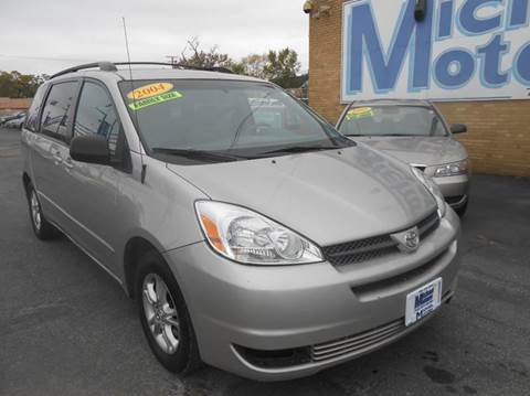 2004 Toyota Sienna for sale at Michael Motors in Harvey IL