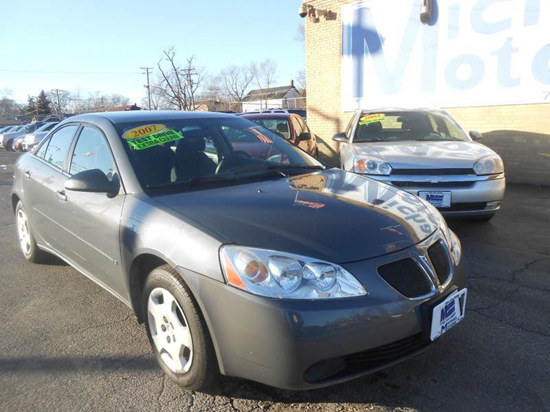 2007 Pontiac G6 for sale at Michael Motors in Harvey IL