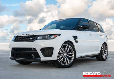 2016 Land Rover Range Rover Sport for sale in Miami, FL