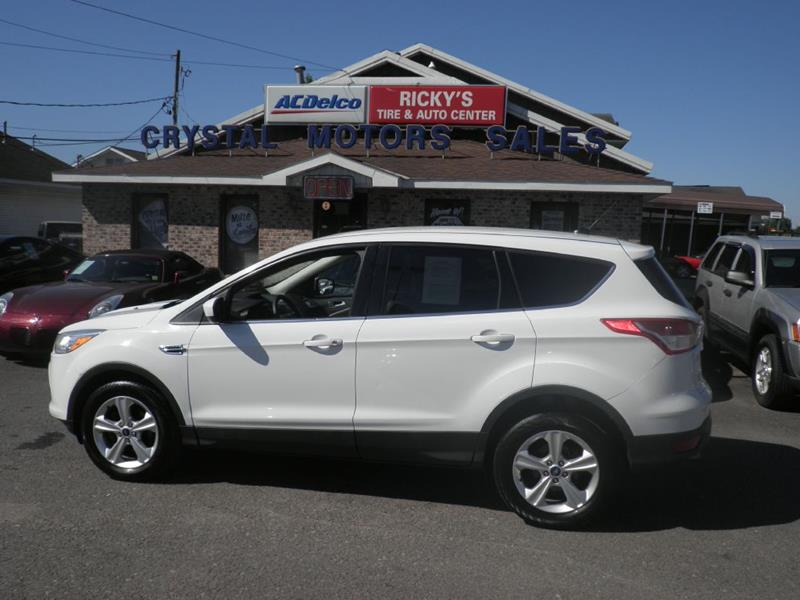 2013 Ford Escape for sale at CRYSTAL MOTORS SALES in Rome NY