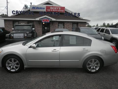 2006 Nissan Maxima for sale at CRYSTAL MOTORS SALES in Rome NY