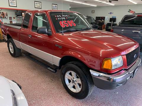 2003 Ford Ranger for sale at PETE'S AUTO SALES - Middletown in Middletown OH