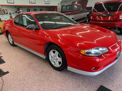 2002 Chevrolet Monte Carlo for sale at PETE'S AUTO SALES - Dayton in Dayton OH