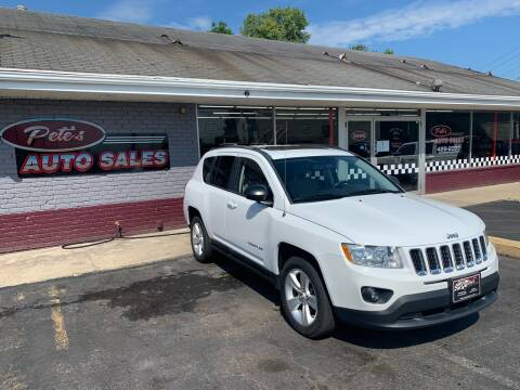 2011 Jeep Compass for sale at PETE'S AUTO SALES - Middletown in Middletown OH