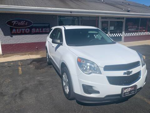 2015 Chevrolet Equinox for sale at PETE'S AUTO SALES - Middletown in Middletown OH