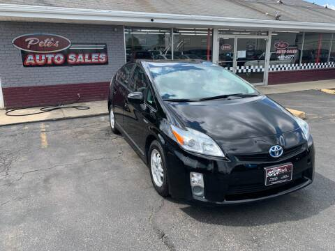 2010 Toyota Prius for sale at PETE'S AUTO SALES - Middletown in Middletown OH