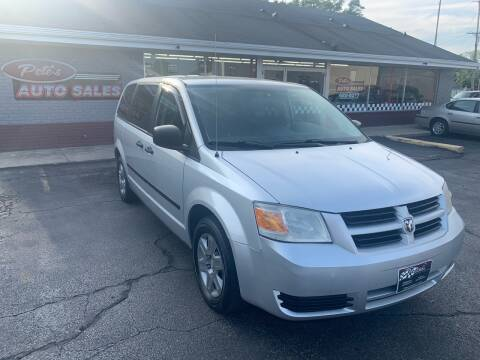 2008 Dodge Grand Caravan for sale at PETE'S AUTO SALES - Dayton in Dayton OH