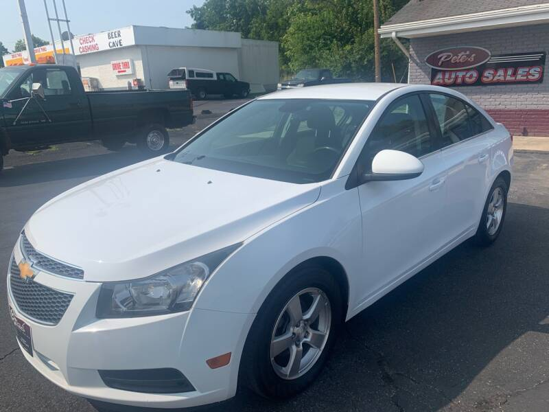 2014 Chevrolet Cruze for sale at PETE'S AUTO SALES - Middletown in Middletown OH