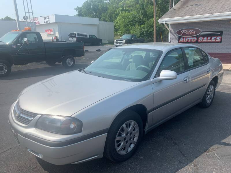 2005 Chevrolet Impala for sale at PETE'S AUTO SALES - Dayton in Dayton OH