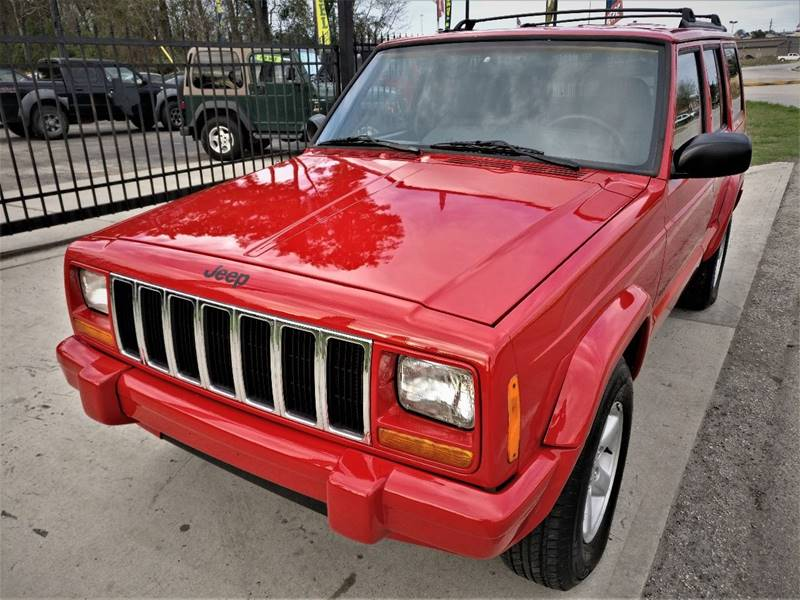 2001 Jeep Cherokee Sport 4WD 4dr SUV   Spring TX
