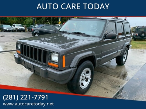 2001 Jeep Cherokee for sale in Spring, TX