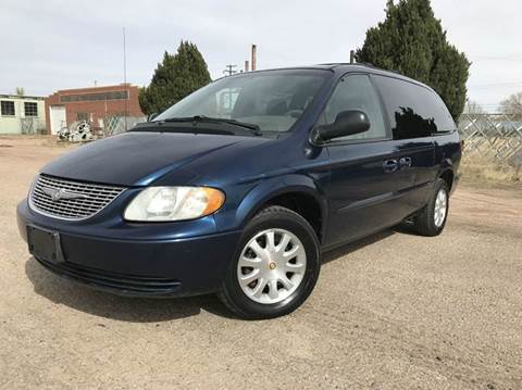2002 chrysler town and country for sale in colorado. Black Bedroom Furniture Sets. Home Design Ideas