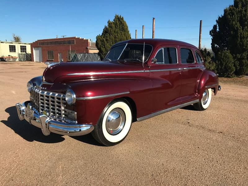 1948 Dodge Deluxe Fluid Drive Sedan In Commerce City CO - Low Down ...