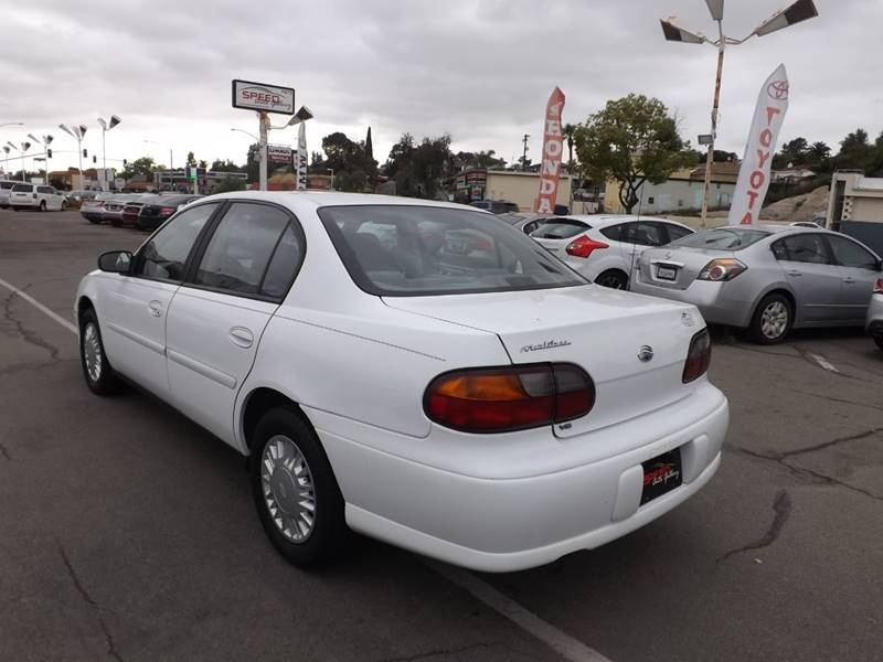 2001 Chevrolet Malibu for sale at Speed Auto Gallery in La Mesa CA