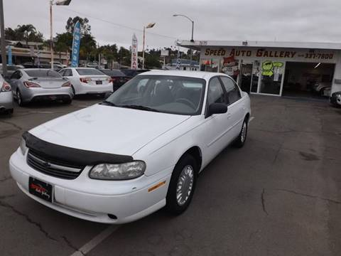 2001 Chevrolet Malibu for sale at Speed Auto Gallery in La Mesa CA