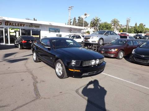 2007 Ford Mustang for sale at Speed Auto Gallery in La Mesa CA