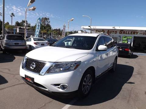 2014 Nissan Pathfinder for sale at Speed Auto Gallery in La Mesa CA