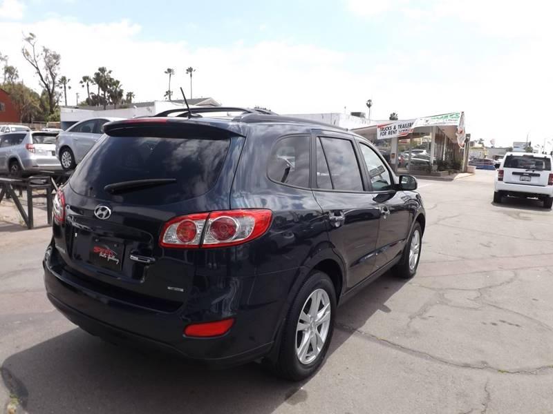 2012 Hyundai Santa Fe for sale at Speed Auto Gallery in La Mesa CA
