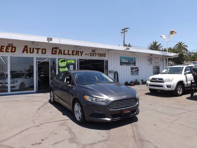 2016 Ford Fusion for sale at Speed Auto Gallery in La Mesa CA