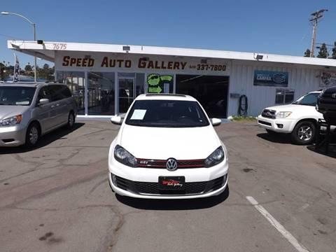 2010 Volkswagen GTI for sale at Speed Auto Gallery in La Mesa CA