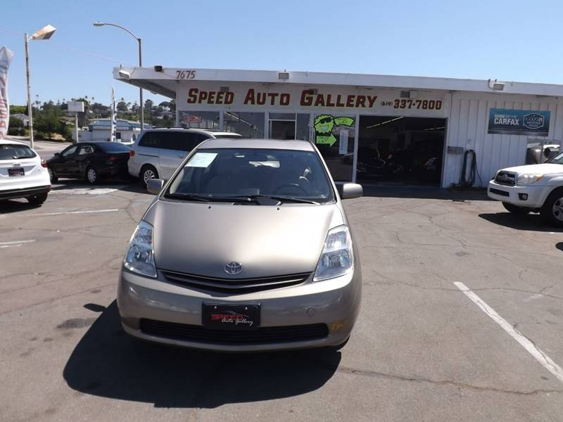 2005 Toyota Prius for sale at Speed Auto Gallery in La Mesa CA