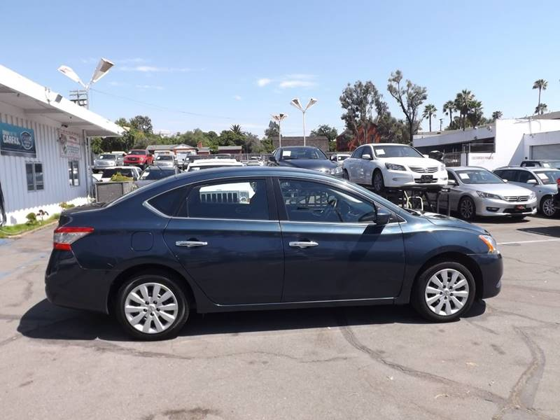 2015 Nissan Sentra for sale at Speed Auto Gallery in La Mesa CA