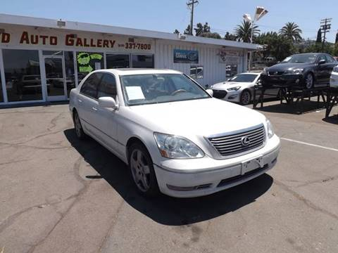 2006 Lexus LS 430 for sale at Speed Auto Gallery in La Mesa CA