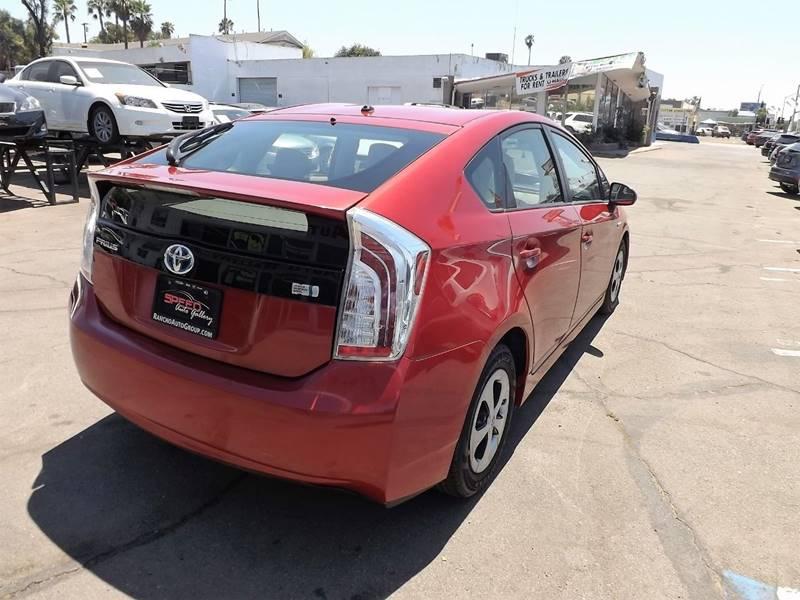 2013 Toyota Prius for sale at Speed Auto Gallery in La Mesa CA