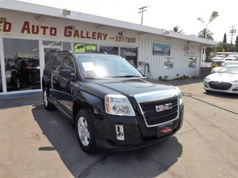 2015 GMC Terrain for sale at Speed Auto Gallery in La Mesa CA
