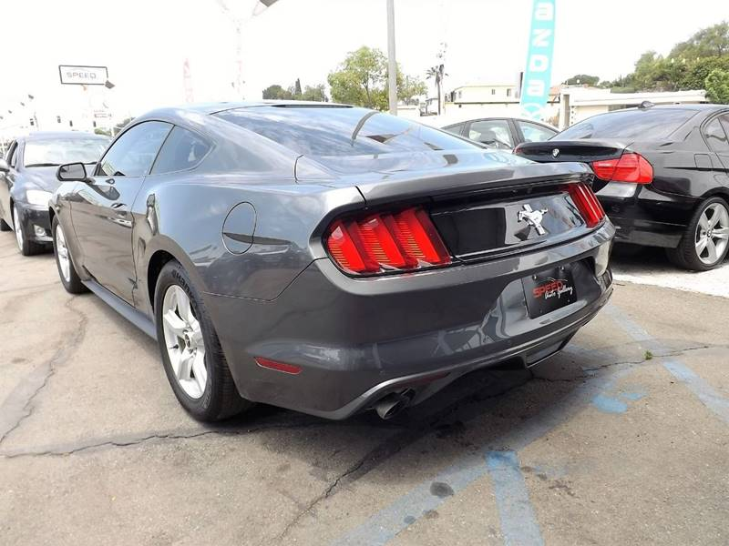 2017 Ford Mustang for sale at Speed Auto Gallery in La Mesa CA