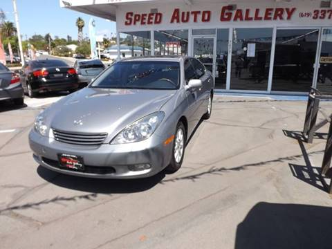 2003 Lexus ES 300 for sale at Speed Auto Gallery in La Mesa CA