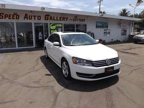 2012 Volkswagen Passat for sale at Speed Auto Gallery in La Mesa CA