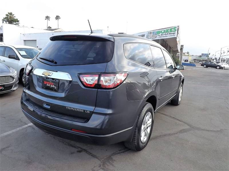 2014 Chevrolet Traverse for sale at Speed Auto Gallery in La Mesa CA