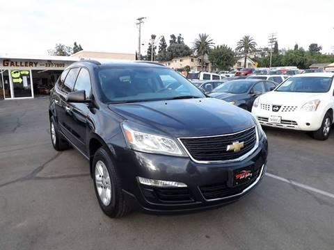 2014 Chevrolet Traverse for sale at Speed Auto Gallery in La Mesa CA