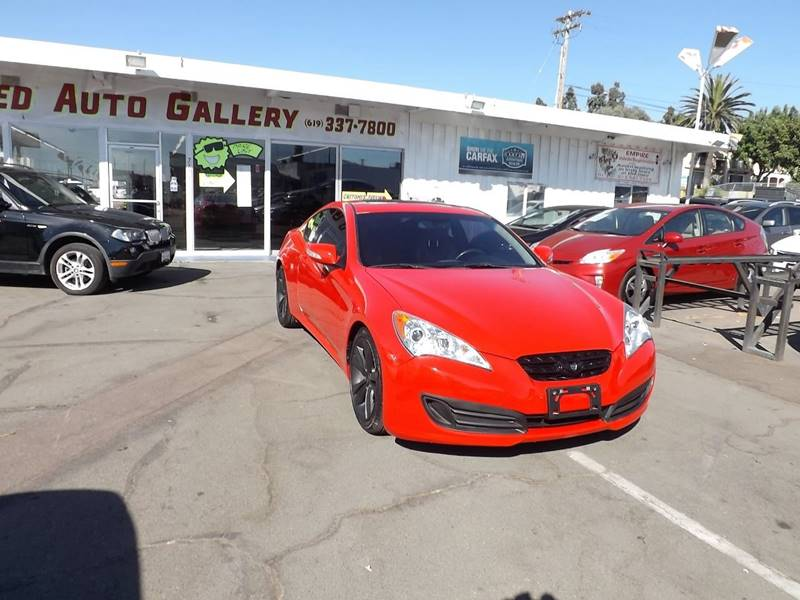 2012 Hyundai Genesis Coupe For Sale At Speed Auto Gallery In La Mesa CA