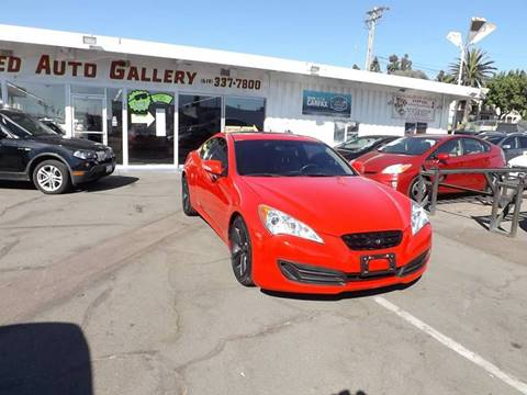 2012 Hyundai Genesis Coupe for sale in La Mesa, CA