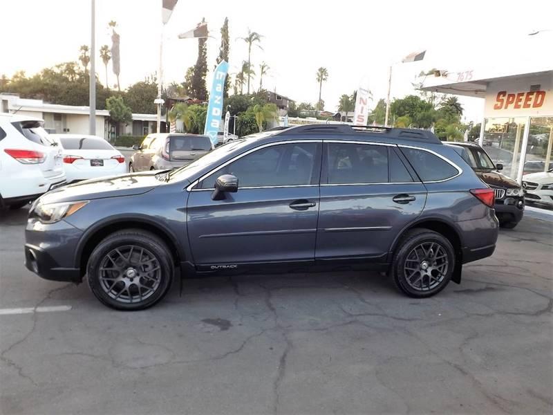 2015 Subaru Outback for sale at Speed Auto Gallery in La Mesa CA