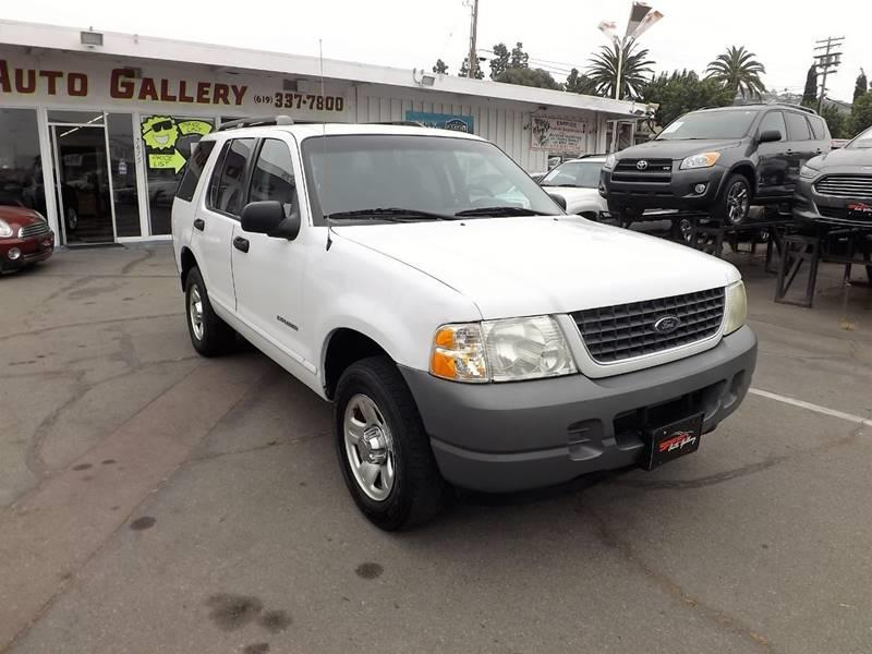 2002 Ford Explorer for sale at Speed Auto Gallery in La Mesa CA