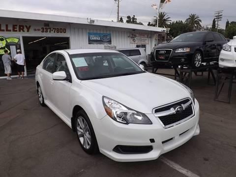 2013 Subaru Legacy for sale at Speed Auto Gallery in La Mesa CA