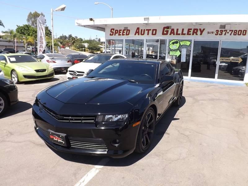 2014 Chevrolet Camaro for sale at Speed Auto Gallery in La Mesa CA